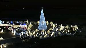 Enchanted Light Show Dallas Raw Video Enchant Christmas Opens In Arlington Nbc 5