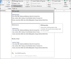 Microsoft Word Apa Header How To Automatically Add Citations And Bibliographies To