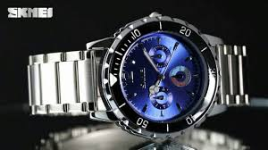 Hot SKMEI 1482 <b>men fashion waterproof quartz</b> watches - YouTube