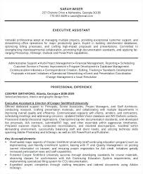 Executive Administrative Assistant Resume New Examples Of Smart ...