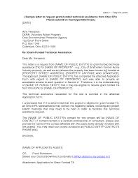 10 Best Images Of Sample Grant Request Letter Education Grant
