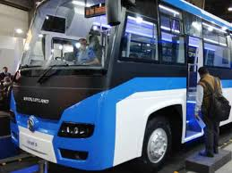 Auto Expo 2018 Ashok Leylands New Electric Bus May Turn