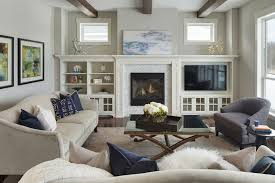 minneapolis electric fireplace a with city and country living room transitional and white center