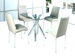 small extending dining table and 4 chairs set uk glass round furniture astonishing