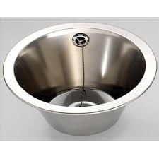 small stainless sink. Simple Sink Fin260r Round Inset Bowl 310mm Diameter Stainless Steel Sink For Small Stainless Sink N