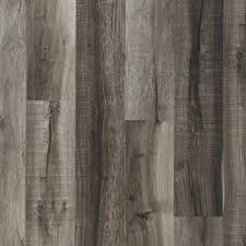 vinyl plank flooring with cork backing with nucore mixed gray hand sed plank with cork back
