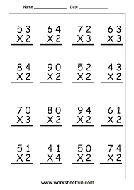 Pictures on Free Multiplication Worksheets Grade 5, - Easy ...