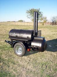 2d patio trailer brand new custom bbq smoker
