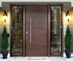 en s mid century modern wooden front doors wood door