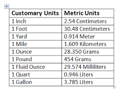 Basic Metric Units Chart Bro And Sis Math Club How To Convert Metric Units To