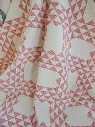 125 best Quilt Patterns images on Pinterest | Paper, Bedroom and ... & c1880s Double Pink Ocean Waves Antique Quilt Gorgeous Quilting!  Vintageblessings Adamdwight.com