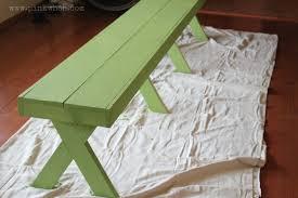idea long diy patio bench