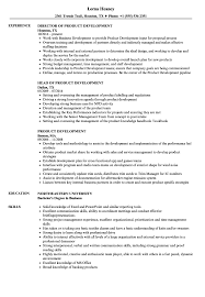 Product Development Resume Sample Product Development Resume Samples Velvet Jobs 15