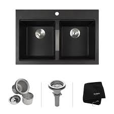 Granite Double Bowl Kitchen Sink Granite Kitchen Sinks Kraususacom
