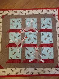 Sock Monkey quilt!   Quilts/Sewing   Pinterest   Monkey, Socks and ... & Sock Monkey quilt! Adamdwight.com