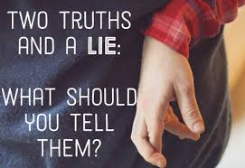 two truths and a lie ideas examples instructions hobbylark the game two truths and a lie is a great party game for teenagers and can also be a good icebreaker in meetings classes or other situations where you need