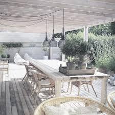 whitewash outdoor furniture. veranda gardenideas living outside covered porch whitewashed wood deck weathered outdoor dining whitewash furniture