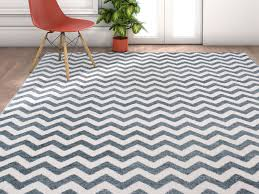 geometric rug pattern. Wandering Chevron Light Blue Zig Zag Modern Casual Geometric Rug Pattern