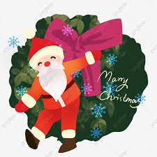 Weihnachtsmann Weihnachtshand Gezeichnete Abbildung