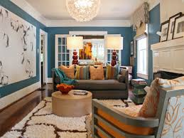 Living Room Paint With Brown Furniture Blue Living Room With Brown Furniture Living Room Design Ideas