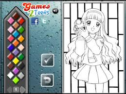 Small Picture Anime Coloring Pages for Kids Anime Coloring Pages YouTube