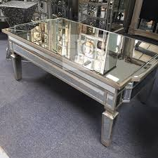 Antique Mirrored Coffee Table with Storage - Mirrored furniture - Sparkle  Diamond - House of Sparkles ...