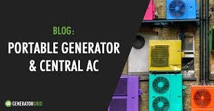 can a portable generator power your central air conditioner?  at Owen 700 Watt Generator For Motorhome Wiring Schematic