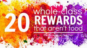 Positive Behavior Charts For Middle School 20 Positive Behavior Rewards That Arent Food The Brown