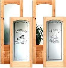 interior doors inch frosted glass pantry door etched menards