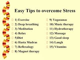stress management 19 easy tips to overcome stress