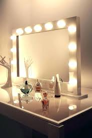 large light up vanity mirror lofty design big with lights beautiful white gallery house