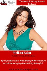 Episode #136: Melissa Kahn –How can a 'Community Vibe' enhance an ...