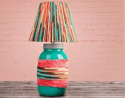 diy woven lamp shade design ideas