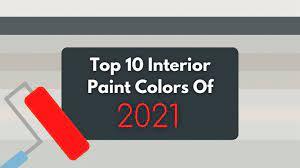 10 best interior paint colors 2021