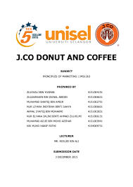 Dunkin Donuts Allergen Chart J Co Donut Coffee Marketing Principles Of Marketing