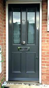 grey front door doors farrow and ball blue within with glass side panels plans 49