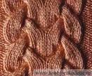 Образцы вязания схем с косами