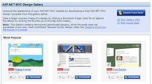 asp net mvc design gallery