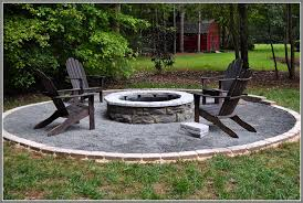 image of outdoor fire pit ideas brick