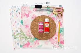 diy mousepad supplies