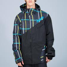 Nomis Touch Snowboard Jacket M Black Plaid