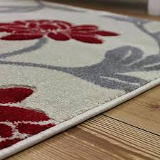 red grey rug cream red silver fl rug design land of rugs red black gray white red grey rug