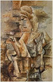 portrait of a woman 1911 by georges braque