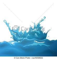 water splash vector illustration.  Vector Vector Water Splash And Illustration S