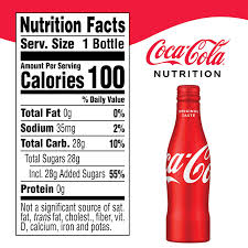 Coca Cola Nutrition Chart Coca Cola Soda Soft Drink 8 5 Fl Oz 12 Pack