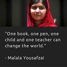 Malala Quotes Adorable Let Us Remember One Book One Pen One Child And One Teacher Can