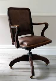 leather antique wood office chair leather antique. Vintage Leather Office Chair Intended For Ormston Saint Chairs Uk Home Architecture 8 Antique Wood A