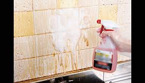 remove oil stains from wall