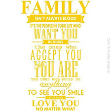 Family Isn T Always Blood Quotes Extraordinary Buy Family Isnt Always Blood Wall Decal Saying Home Decor Stickers