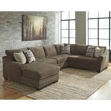 3 piece sectional sofa with chaise. Unique Piece Benchcraft Justyna Contemporary 3Piece Sectional With Left Chaise And 3 Piece Sofa With H